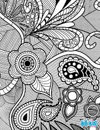 Small Picture Flowers paisley design coloring pages Hellokidscom