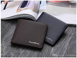 men s pu leather can be customized logo fashion casual soft leather multi cardshort business wallet simple ultra thin wallet