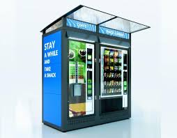 Outdoor Vending Machine Cool VENDING MACHINES HOUSINGS FEATURES KeyCompany Visual Advertising