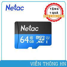 Thẻ nhớ netac class 10 64gb 32gb 16gb dùng cho camera yoosee xiaomi imou  hik ezviz .. điện thoại các loại ...vv | Thẻ Nhớ Máy Ảnh