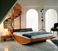 cool beds for adults. Cool Beds Gallery - Semi-circular Wooden Bed For Adults Myria