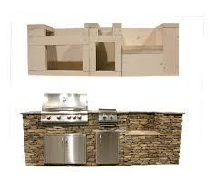 quik lite kitchen kit finished stone combined