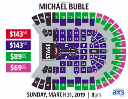 Tacoma Dome Michael Buble Seating Chart Section Staples Center Page 2 Of 2 Online Charts Collection