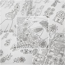 自由に彩る大人のための塗り絵 阪急阪神百貨店ライフスタイル