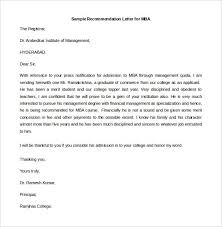 Example Of A Recommendation Letter Coles Thecolossus Co Throughout