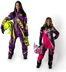 Fxr Womens Maverick Mono Suit Shell Only Purple Hi Vis 6
