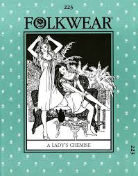 Folkwear Patterns Beauteous Folkwear Pattern 48 48's Lady's Chemise