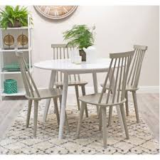 vl is white retro round dining table