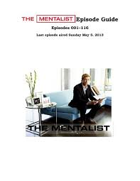 the mentalist episode guide inaf iasf