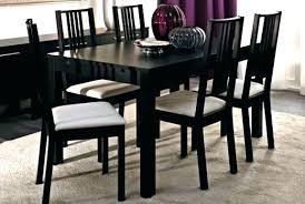 ikea dining table chairs room minimal nook with large art an round set australia