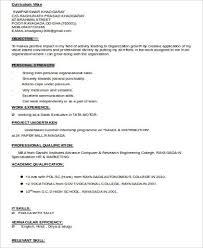 mba marketing student resume - Marketing Student Resume
