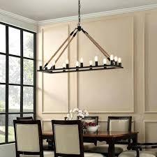 image of modern rectangular chandelier style iron rustic designs