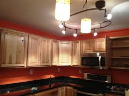 image of track lighting kitchen for small kitchens