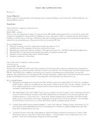 Examples Of Strong Resumes Writing A Good Objective For A Resume Orlandomoving Co