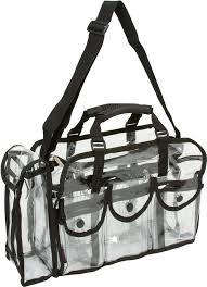 seya large transpa carry all makeup set bag overstock ping big s on seya makeup cases