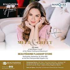 Maria Letizia Dantes - Marian Rivera-Dantes, the FACE of BEAUTÉDERM HOME  will be at the MARQUEE MALL, Angeles Pampanga on SEPT. 18 at 4pm for the  Blessing and Ribbon Cutting of the