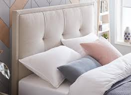 Hopkins Fabric Upholstered Ottoman Bed Frame | Dreams