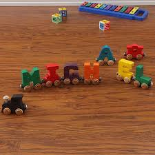personalized wooden name train 1075d