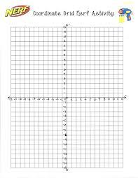 Four Quadrant Coordinate Graph Paper 4 Grid 10 X 10 Glotro Co