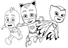 Pj Masks To Print For Free Pj Masks Kids Coloring Pages