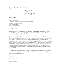 Business Letter Format Cover Letter Business Report Cover Letter