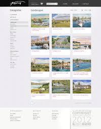 Web Design Courses Galway Web Design Development Vandas Gallery 2012 On Behance