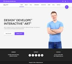 Sility Premium Responsive Cv Resume Wordpress Theme