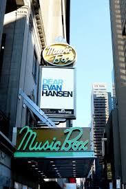 Music Box Theatre New York Seating Chart Jks Theatrescene Review Dear Evan Hansen