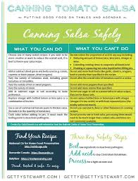 Ball Canning Altitude Chart How To Can Salsa Safely Hot Water Bath Canning