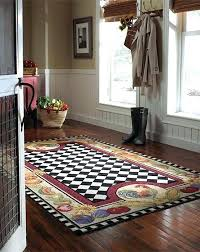 french country kitchen rugs area dining room incredible wool 6 rug ideas