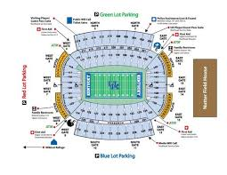 Commonwealth Stadium Seating Chart Kentucky Football Stadium Seating Chart Kentucky Wildcars