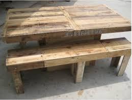 pallet furniture table. Pallet Table U0026 Bench Furniture F