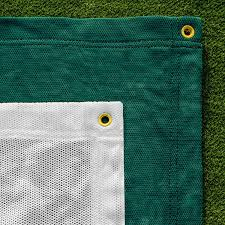com premium quality archery backstop nets in green or white net world sports sports outdoors