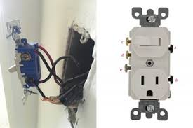 replace a wall light switch with a switch outlet combo Leviton Phone Jack Wiring Diagram Leviton 5245 Wiring Diagram #16