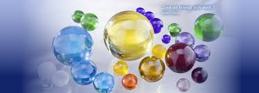 glass spheres and