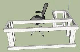 i built a desk