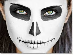 she wanted us to paint our faces like sugar skulls from day of the dead description from ezbackgrounds i searched for this on bing images