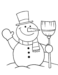 Small Picture Free Printable Snowman Coloring Pages For Kids Snowman Coloring