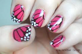 Easy Butterfly Nail Art Design Tutorial - Using Homemade Water Decals -  YouTube