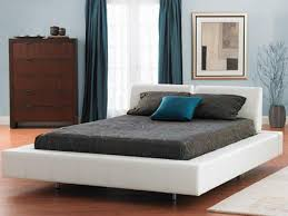 ... Platform Bed Frame King Cheap King Platform Bed Dark Gray Mattress And  Pillow With ...