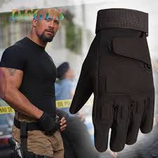Men's <b>Tactical Gloves Military Army</b> Police Paintball <b>Mittens Outdoor</b> ...