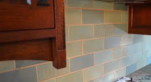 Subway Tile Floor Kitchen A Craftsman Kitchen Lovers Dream Subway Tile Blog Mercury Mosaics