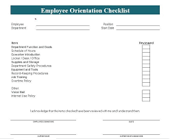 Employee Training Powerpoint Training Plan Template New Employee Orientation Checklist Word And