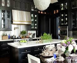 Dark Kitchen Cabinets Best 48 Kitchens With Black Kitchen Cabinets Done 48 Different Ways