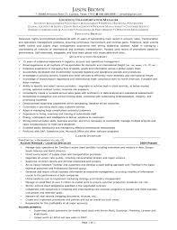 Cover Letter Sample Transportation Management Resume Logistics
