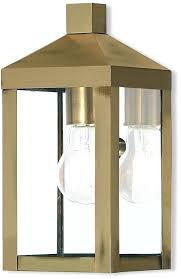 sconce livex 20581 01 nyack antique brass outdoor sconce lighting loading zoom exterior sconce light