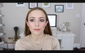 pinky bronze easy makeup tutorial