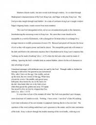 madness in king lear college essays zoom