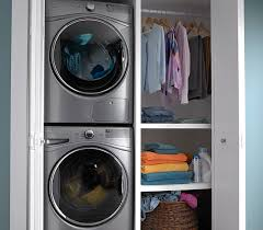 counter depth washer and dryer. Interesting Washer ClosetDepth Fit For Counter Depth Washer And Dryer