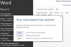 Cancel Office 365 What Happens When Office Subscription Expires